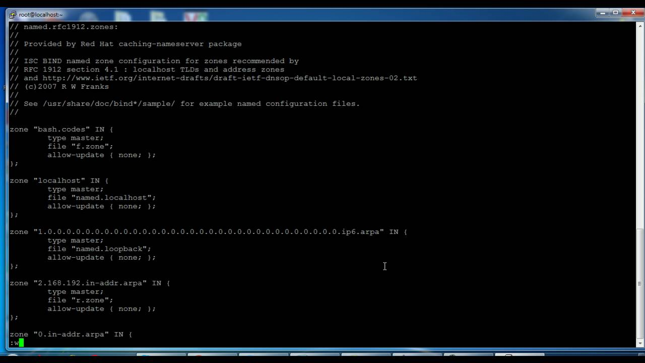 How To Install And Configure Dns Server In Rhel Centos 7 Benisnous