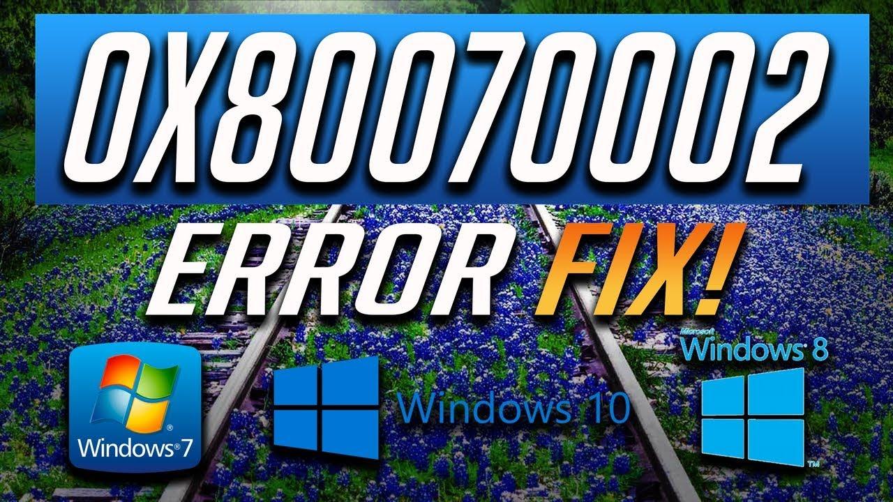 Fix Windows Update Error 0x80070002 in Windows 10/8/7 2020 Tutorial > BENISNOUS