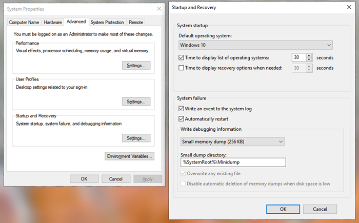 Choose an operating system screen missing on dual-boot Windows 10 computer
