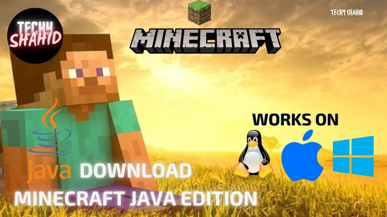 download minecraft java edition for pcwork on apple