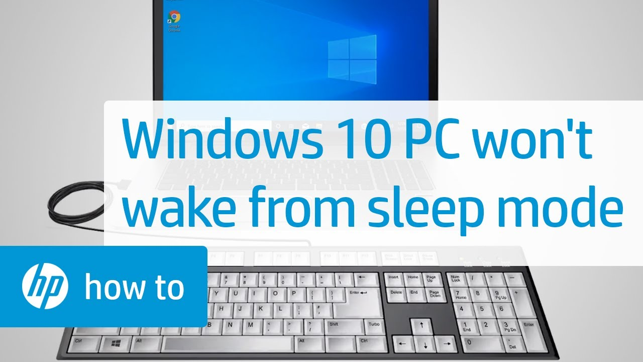 Fix Your Windows 10 Computer When It Doesn't Wake from ...