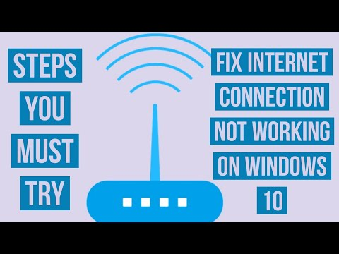 How to Fix Internet connection Not Working on your windows ...
