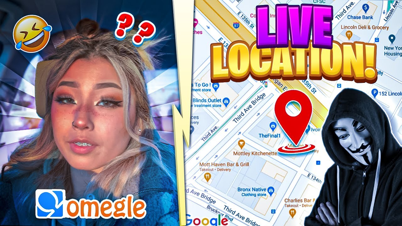 TELLING HOT GIRLS WHERE THEY LIVE ON OMEGLE (IP ADDRESS