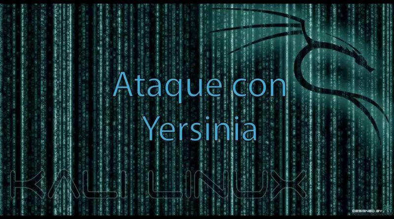 Ataque DHCP – Denegacion de servicios con Yersinia