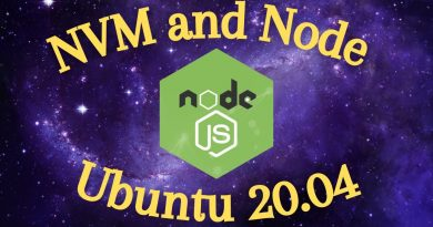 How to Install NVM and Node on Ubuntu 20.04